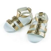 Sandales dorées pour Poupée La Bella - Käthe Kruse