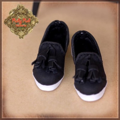Chaussures Mocassins noirs pour InMotion Girls 30 cm