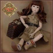 Ensemble Robe et Bottes pour poupée Rubyred 30 Cm