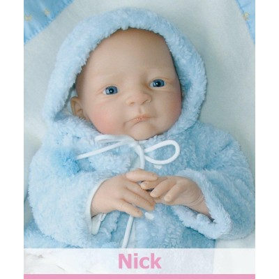 Bébé Nick à jouer - Nicky Creation
