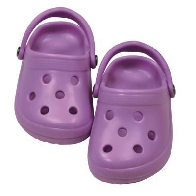 Chaussures Dollocs Crocs mauves - Götz
