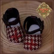 Chaussures tissu écossais  pour Yu Ping
