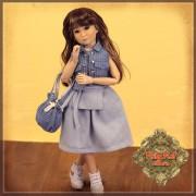 Poupée Yuri en style denim décontracté - Senson Doll 30 Cm