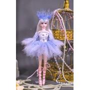 Petite Poupée Ballerine Reine des Neiges 29 Cm