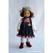 Tenue Frisson d'Hiver pour poupée Boneka