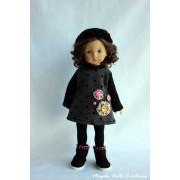 Tenue Brume de Silence pour poupée Boneka