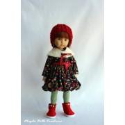 Tenue Fantaisie Hivernale pour poupée Boneka