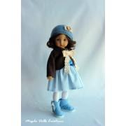 Tenue Moment de calme pour poupée Boneka