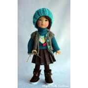 Tenue Etoile filante pour poupée Ten Ping