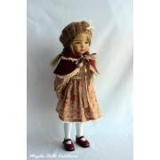 Ensemble Rose d'Automne pour Poupée Little Darling