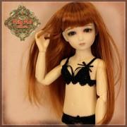 Ensemble Sous-vêtements noir pour poupée Rubyred 30 Cm