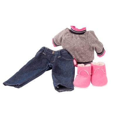 Ensemble Comfy Sweat et Jeans pour Poupée 45-50 Cm - Gotz