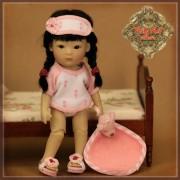 Ensemble Pyjama rose pour Yu Ping - Rubyred