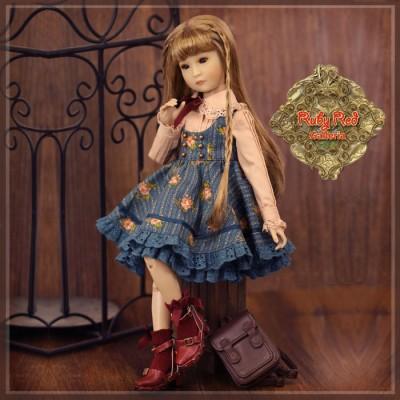 Poupée Yuma en écolière style fleuri - InMotion Girl 30 Cm - Rubyred