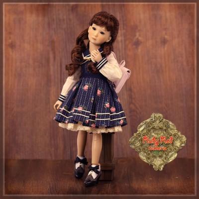 Poupée Yuri en écolière style fleuri - Senson Doll 30 Cm - Rubyred