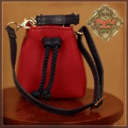 Sac bourse rouge pour poupée Ten Ping 20 Cm - Ruby Red