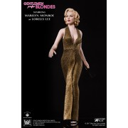 Figurine articulée Marilyn Monroe - Gold Version - Star Ace