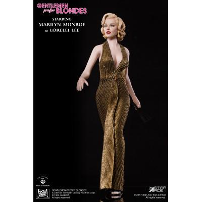 Figurine articulée Marilyn Monroe - Gold Version - Star Ace