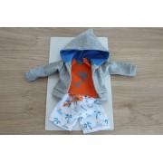 Vêtement Vicent Short et Sweat-shirt pour poupée Las Amigas - Paola Reina