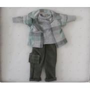 Vêtement Luis Pantalon et Chemise pour poupée Las Amigas - Paola Reina