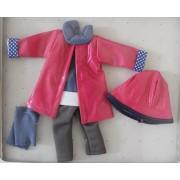 Vêtement de pluie Manica pour poupée Las Amigas - Paola Reina