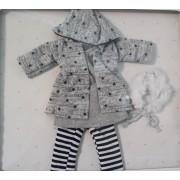 Vêtement Claudia Manteau et robe pour poupée Las Amigas - Paola Reina
