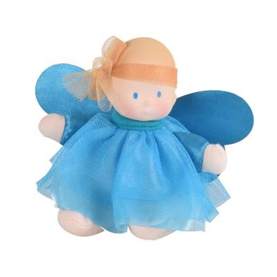 Poupée Bébé Bleu Fée précieuse en caoutchouc naturel - Bonikka