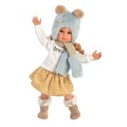 Poupée Sophia Rousse Chapeau bleu 42 cm Llorens