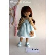 Tenue Jade pour poupée Boneka - Magda Dolls Creations