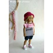 Tenue Lucile pour poupée Boneka - Magda Dolls Creations
