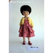 Tenue Romy pour poupée Boneka - Magda Dolls Creations