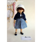 Tenue Anais pour poupée Boneka - Magda Dolls Creations