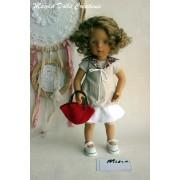 Ensemble Mina pour Poupée Minouche - Magda Dolls Creations