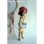 Ensemble Alix pour Poupée Little Darling - Magda Dolls Creations