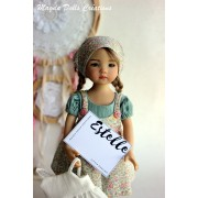 Ensemble Estelle pour Poupée Little Darling - Magda Dolls Creations