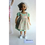 Ensemble Emma pour Poupée Little Darling - Magda Dolls Creations