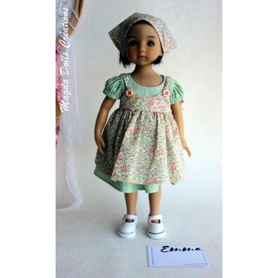 Ensemble Emma pour Poupée Little Darling - Magda Dolls Creations