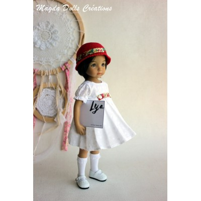 Ensemble Lya pour Poupée Little Darling - Magda Dolls Creations