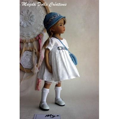 Ensemble Lya pour Poupée Little Darling - Magda Dolls Creations