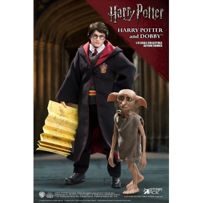 Pack 2 Figurines articulées Harry Potter et Dobby - Twin Pack Version - Star Ace