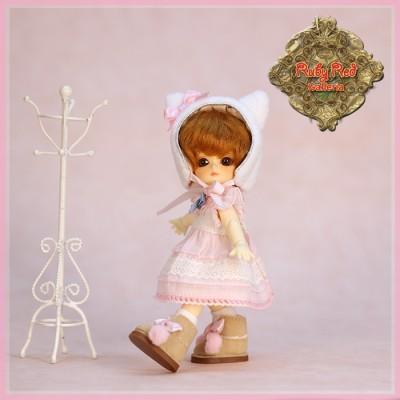 Ensemble Pink Elf pour Poupée Honee-B - Ruby Red
