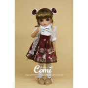 Poupée BJD Cutie Dudu Teint mat 26 cm - Comi Baby Doll
