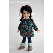 Tenue Yasmine pour poupée Ten Ping - Magda Dolls Creations