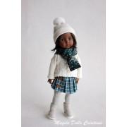 Tenue Sarah pour poupée Boneka - Magda Dolls Creations