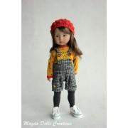 Tenue Maria pour poupée Boneka - Magda Dolls Creations