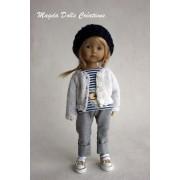 Tenue Roxanne pour poupée Boneka - Magda Dolls Creations