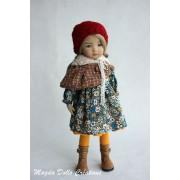 Ensemble Livia pour Poupée Little Darling - Magda Dolls Creations