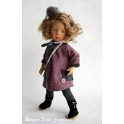Ensemble Gabrielle pour Poupée Little Darling - Magda Dolls Creations