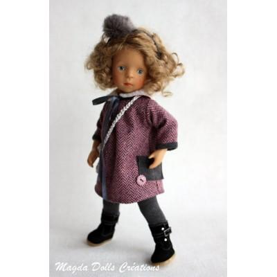 Ensemble Gabrielle pour Poupée Little Darling - Magda Dolls Creations