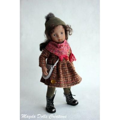 Ensemble Tamy pour Poupée Little Darling - Magda Dolls Creations